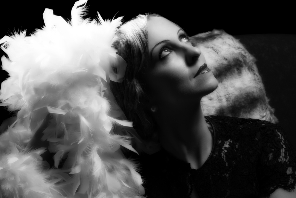 vintage glamour woman