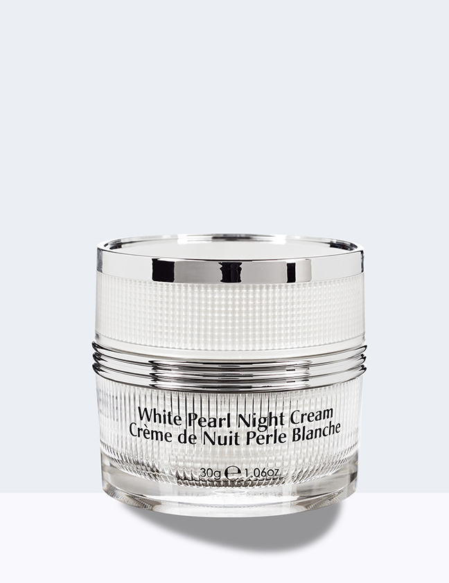 White pearl night cream