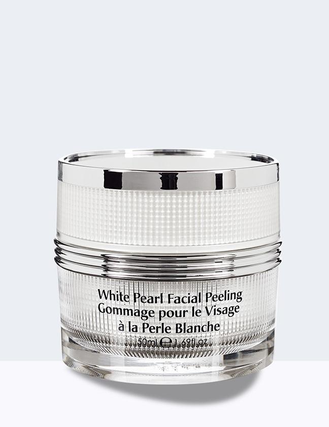 white pearl facial peeling